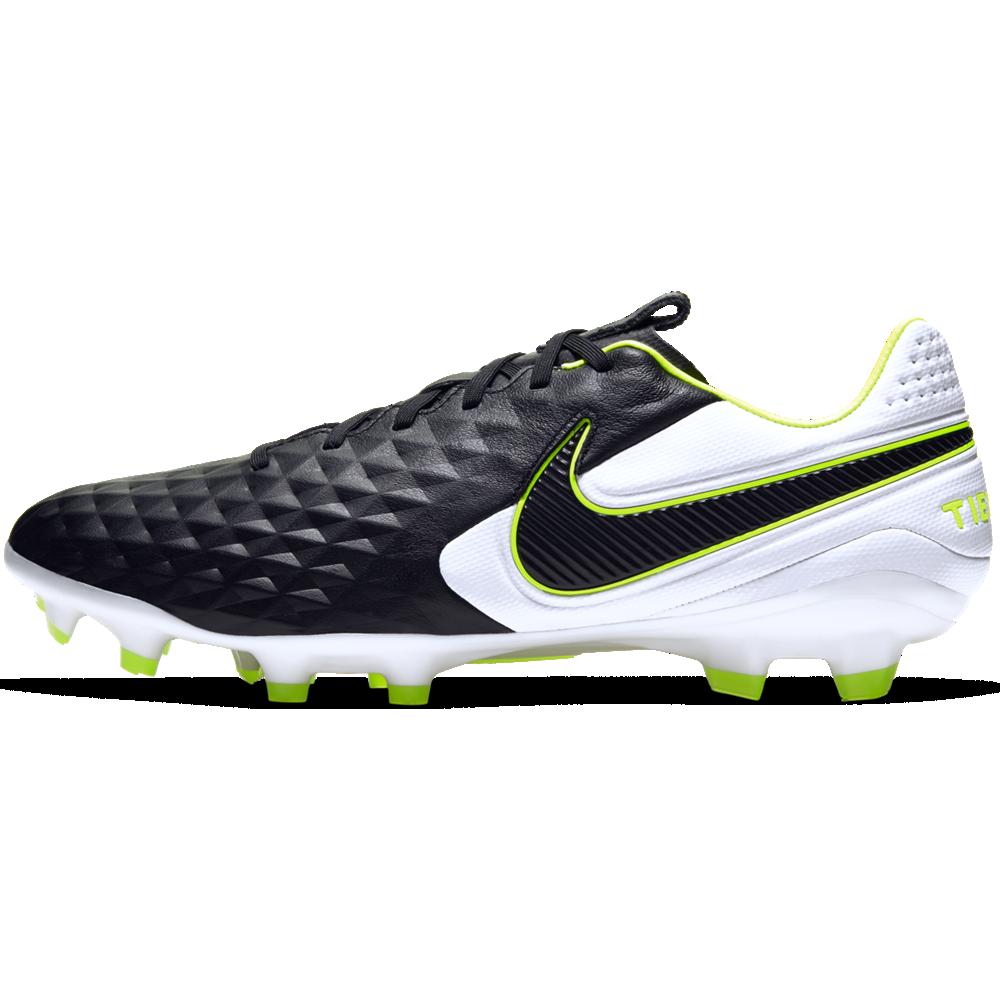 Scarpe Nike TIEMPO LEGEND 8 PRO (FG) Black/Black-Blue Hero ...
